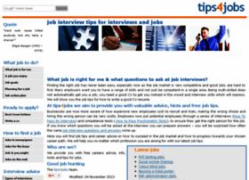Tips4jobs.co.uk