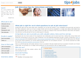 tips4jobs.co.uk