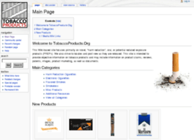 tobaccoproducts.org