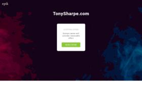 tonysharpe.com