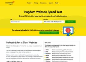 tools.pingdom.com