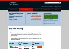 top10webhosting.com