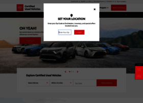 Toyotacertified.com