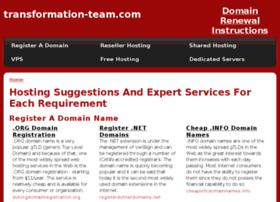 transformation-team.com