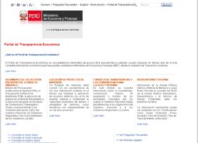 transparencia-economica.mef.gob.pe