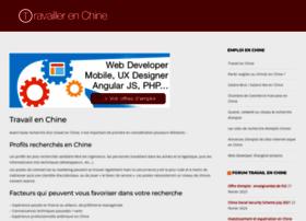 travaillerenchine.com