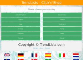 trendlists.com