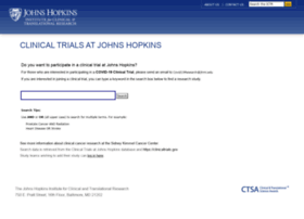 trials.johnshopkins.edu