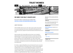 trustwomenmovie.wordpress.com