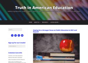 Truthinamericaneducation.com