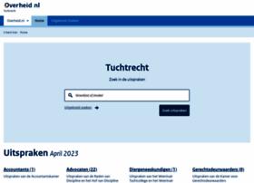 tuchtrecht.overheid.nl