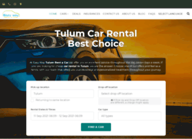 tulumcarrental.com