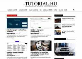 tutorial.hu