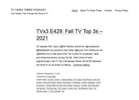tvtimesthree.com