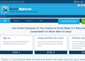 tweetmyevents.com