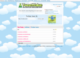 tweetvalue.com