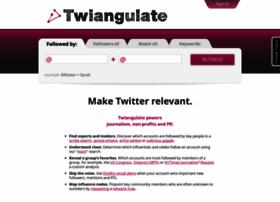 twiangulate.com