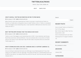 twitterlocal.net