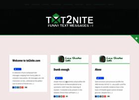 txt2nite.com