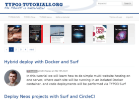 typo3-tutorials.org