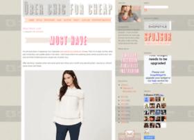 uberchicforcheap.blogspot.com
