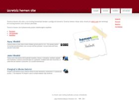 ucretsizhemensite.com