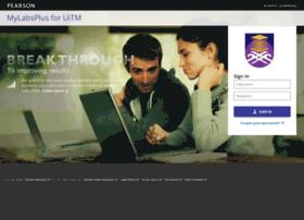 Uitm.mylabsplus.com