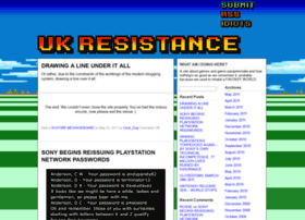 Ukresistance.co.uk