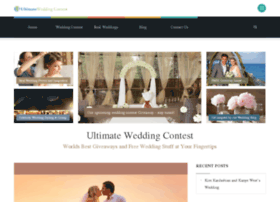 ultimateweddingcontest.com