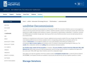 umdrive.memphis.edu