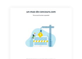 un-max-de-concours.com