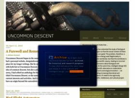 uncommondescent.com