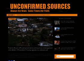 unconfirmedsources.com