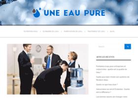 une-eau-pure.com
