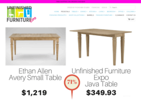 unfinishedfurnitureexpo.com