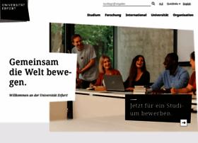 uni-erfurt.de