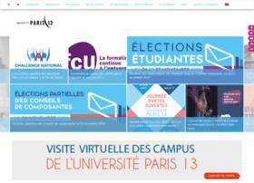Univ-paris13.fr