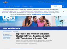 Universalannualpass.com