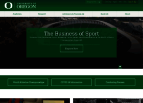 uoregon.edu