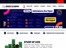 uos.edu.pk