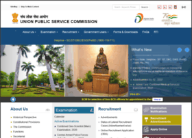 upsc.gov.in