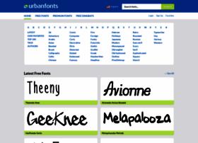Urbanfonts.com