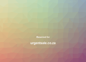 urgentsale.co.za