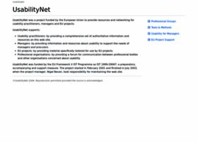 usabilitynet.org