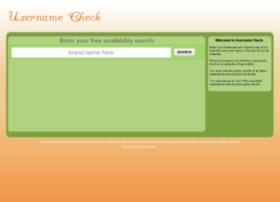 usernamecheck.com