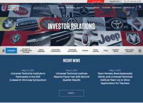 uti.investorroom.com