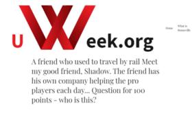 uweek.org