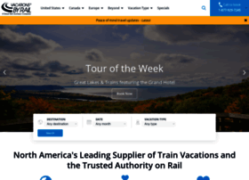 vacationsbyrail.com