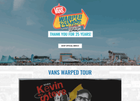 vanswarpedtour.com