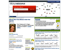 visualthesaurus.com
